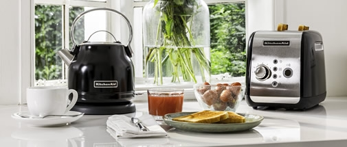KitchenAid Kettles and Toasters