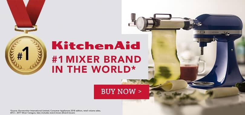 kitchenaid no1 mixer brand in the world