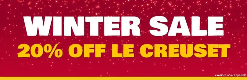 Le Creuset Winter Sale