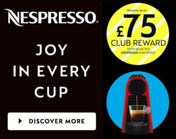 nespresso coffee machine offer
