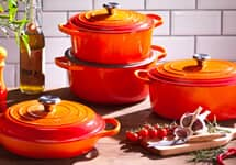 New Le Creuset Signature Cookware - 66