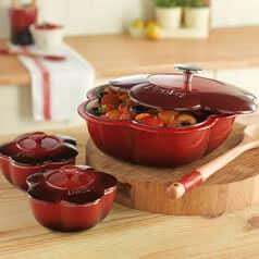 Denby Premium Cookware Cherry