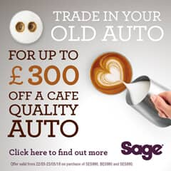 Sage Coffee Machine Trade Up