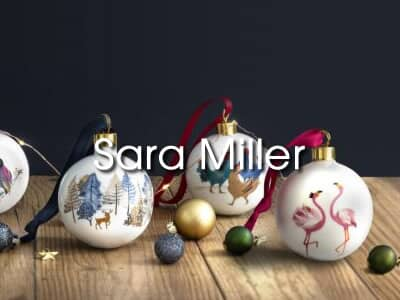 Sara Miller Christmas Tableware