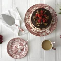 Spode Cranberry Italian