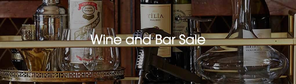 Wine And Bar Sale Now On