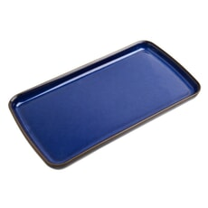 Denby Imperial Blue Small Rectangular Plate