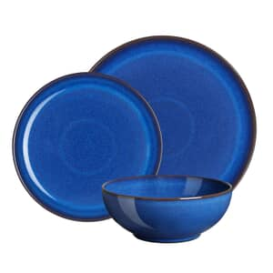 Denby Imperial Blue 12 Piece Coupe Box Set