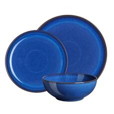 Denby Imperial Blue 12 Piece Coupe Box Set