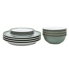 Denby Regency Green 12 Piece Boxed Set