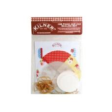 Kilner 108 Pce Haberdashery Jam Jar Seal Kit