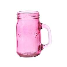Kilner Handled Jar - Pink