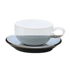 Denby Jet Grey Tea Saucer