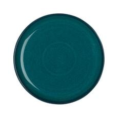 Denby Greenwich Medium Coupe Plate Green