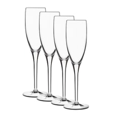 Luigi Bormioli Michelangelo Masterpiece Flute 20cl Glass Set Of 4
