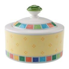Villeroy And Boch Twist Alea Limone 6 Person Sugar/Jampot 0.20L