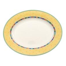 Villeroy And Boch Twist Alea Limone Oval Platter 34cm