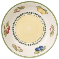 Villeroy And Boch French Garden Fleurence pasta plate/salad bowl 23cm