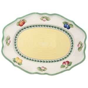 Villeroy And Boch French Garden Fleurence oval platter 44cm