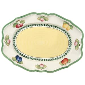 Villeroy And Boch French Garden Fleurence oval platter 37cm