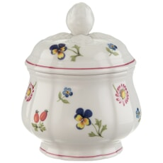 Villeroy And Boch Petite Fleur 6 Person Covered Sugarpot 0.20L