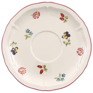 Villeroy And Boch Petite Fleur Breakfast Cup Saucer 17cm