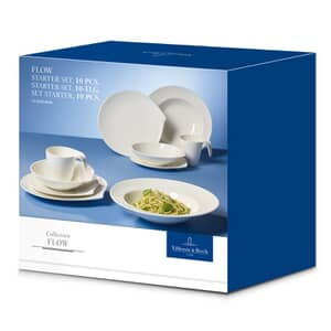 Villeroy And Boch Flow Starter Set (10 pieces)
