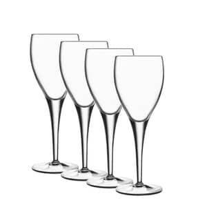 Luigi Bormioli Michelangelo Masterpiece Large Wine Glass 34cl Set Of 4