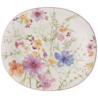 Mariefleur Basic Oval Salad Plate 23x19cm