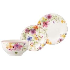 Villeroy and Boch Mariefleur Basic - Breakfast Set 12 Piece