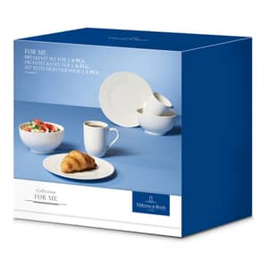 Villeroy And Boch For Me Breakfast Set for two (6 pieces)