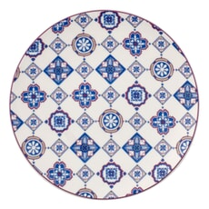 Villeroy And Boch Indigo Caro - Coupe Salad Plate