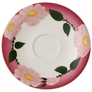 Villeroy and Boch Rose Sauvage Framboise Breakfast Cup Saucer