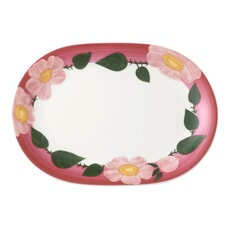 Villeroy and Boch Rose Sauvage Framboise Gourmet Plate