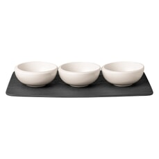 Villeroy and Boch New Moon - Dipping Bowl Set