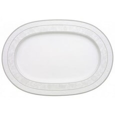 Villeroy and Boch Gray Pearl - Oval Platter 41cm