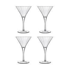 Luigi Bormioli Bach Martini 260ml Glass Set Of 4
