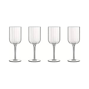 Luigi Bormioli Bach Red Wine 400ml Glass Set Of 4