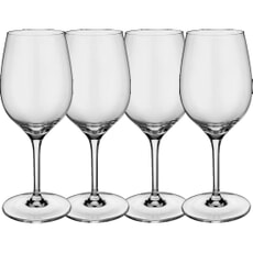 Villeroy and Boch Entree White Wine Goblet Set Of 4