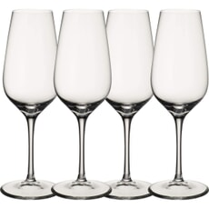 Villeroy and Boch Entree Champagne Flutes Set Of 4