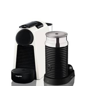 Magimix Nespresso Essenza Mini White And Aeroccino