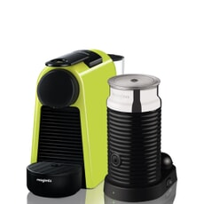 Magimix Nespresso Essenza Green And Aeroccino