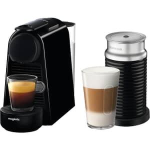 Magimix Nespresso Essenza Mini Black And Aeroccino