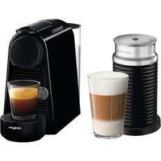 Magimix Nespresso Essenza Mini Black And Aeroccino