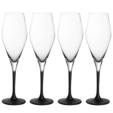 Villeroy and Boch Manufacture Rock - Champagne Flutes Set Of 4