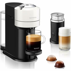 Magimix Vertuo Next White Nespresso Coffee + Milk Frother