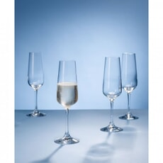 Villeroy and Boch Ovid Champagne Flutes Set Of 4