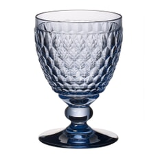 Villeroy and Boch Boston Coloured Red Wine Goblet (Blue) 0.31L