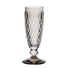 Villeroy And Boch Boston Coloured Champagne Flute (Smoke) 0.145L
