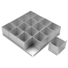 Anodised Bakeware Square Mini Cake Set